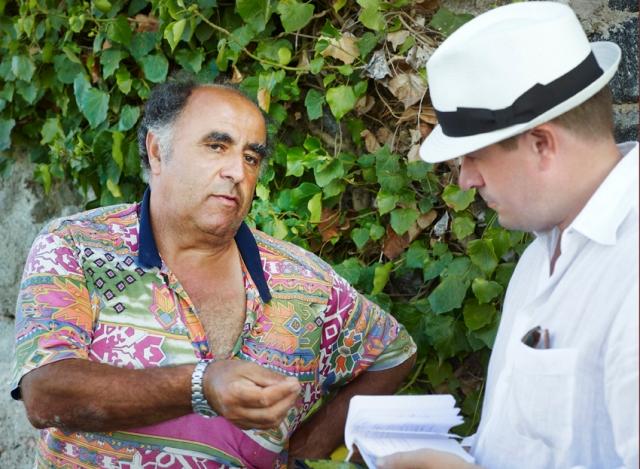 Salvatore Murana og undertegnede (foto. Anna Huerta, www.annahuerta.com)