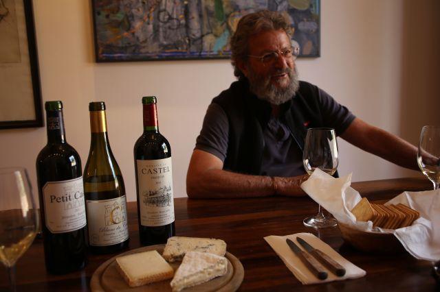 Eli Ben Zaken, eier og vinmaker hos Castel